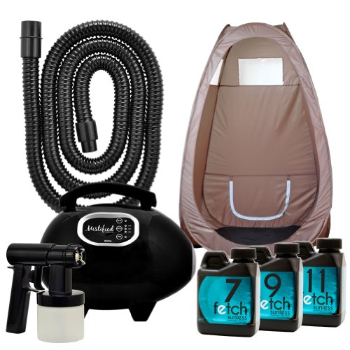 Mistified Hvlp Tan Machine Fetch Dha Sunless Brown Spray Tanning Tent Kit 1A front-779543