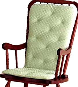 Baby Doll Bedding Heavenly Soft Adult Rocking Chair Cushion Pad