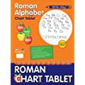 Roselle Academic Spiral-Bound Chart Tablet, Ruled for 1.5-Inch Manuscript/Roman Alphabet, 24 x32 Inches, 25 Count (07412-6)