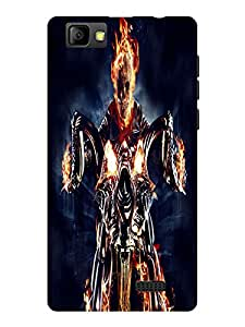 TREECASE Designer Printed Soft Silicone Back Case Cover For Reliance Jio Lyf Wind 7