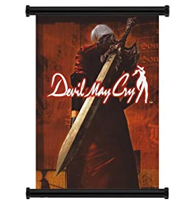 """Devil May Cry Anime Game Fabric Wall Scroll Poster (16"""" x 23"""") Inches"""