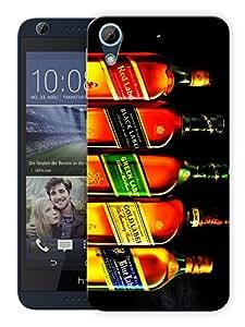 """Humor Gang Liquor Love Malt Whiskey Printed Designer Mobile Back Cover For """"HTC DESIRE 728"""" (3D, Matte, Premium Quality Snap On Case)"""