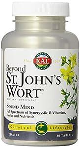 KAL Beyond St. John's Wort Tablets, 300 mg, 60 Count