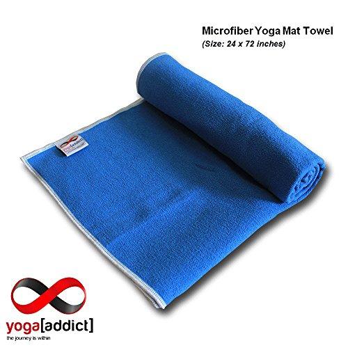 YogaAddict Yoga Mat Towel And Hand Towel Combo Set