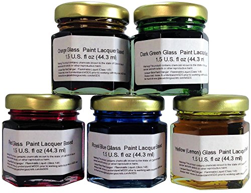 glass-paint-lacquer-stain-sample-kit-5-pack-15-ounce-professional-permanent-stained-glass-finish