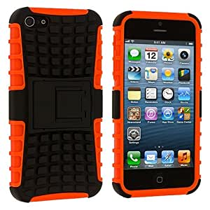 Wow Super Grip Armor Stand Case For Iphone 4/ 4S - Orange