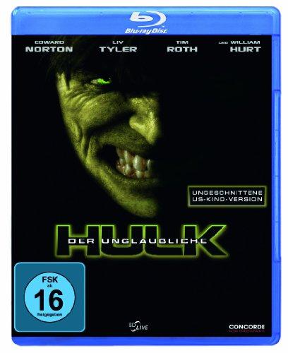 Der unglaubliche Hulk (ungeschnittene US-Kinoversion) [Blu-ray]