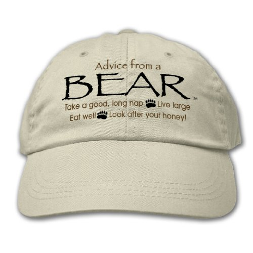 Advice From A Bear ~ Putty Hat