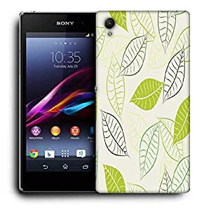 Snoogg Black Spots Printed Protective Phone Back Case Cover For Sony Xperia Z5