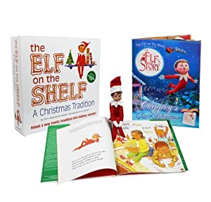 The Elf on the Shelf A Christmas Tradition (Blue-Eyed Boy) New Version
