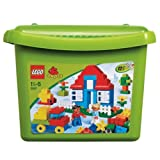 Swell LEGO® DUPLO Deluxe Brick Box - 5507 with accompanying HSB Storage Bag