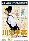 AKB48公式生写真 22ndシングル選抜総選挙【川栄李奈】
