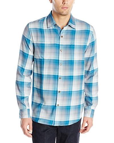 Nat Nast Men's Federl Silk Plaid Shirt