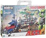 KRE-O Transformers Age of Extinction OPTIMUS PRIME DINO HAULER Construction Set