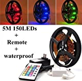 51wHd4bcEtL. SL160  ATC Mixcolored 5M Flexible Lighting Strip 150 LEDs Waterproof Light Strip Decorative Lights for Automobile Bicycle Decoration Border Contour (Note:15 Colors Changed in Total) lighting