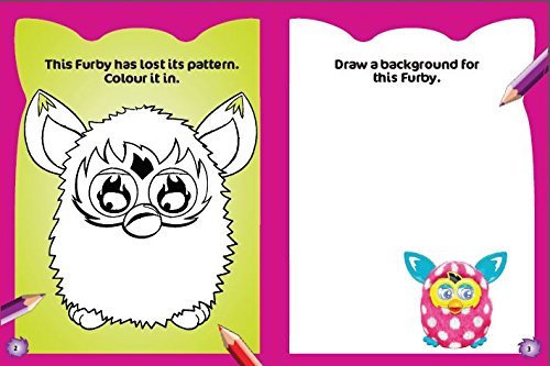 Furby Boom Colouring Book Furbulous