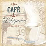 Cafe Lelegance by Grey, Jace - fine Art Print on PAPER : 25 x 25 Inches