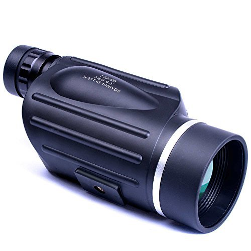 Cheapest Price! Emarth 13x50 High Power Compact Monocular with Handle for Bird Watching / Outdoor Vi...