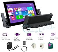 "Microsoft Surface Pro 2 Core i5-4200U 4G 64GB 10.6"" touch screen 1920x1080 Full HD Wacom Pen Windows 8 Pro Multi-position Kickstand(With Dock,No Cover,4Gb 64GB) from Microsoft"