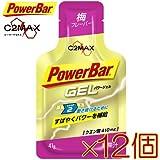 PowerBar(パワーバー)パワージェル 梅味(12本セット)