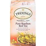 Twinings of London Pure Rooibos Herbal Red Tea Bags, 20 Count (Pack of 6) (Tamaño: 20 Count (Pack of 6))