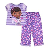 Disney Baby-girls Doc McStuffins Short Sleeve & Pants Pajama Set (2 Piece)