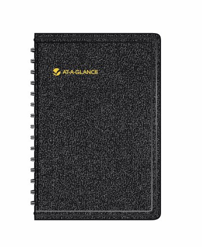 At-A-Glance 2014 Daily Appointment Book, Black, 5.75 X 8.31 X .88 Inches (70-800-05)