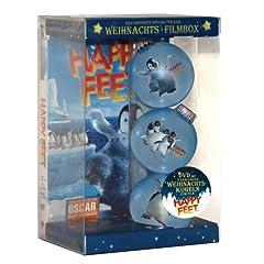 Happy Feet Weihnachts-Filmbox (Single Disc inkl. 3 hochwertiger Christbaumkugel)