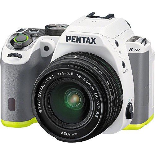 Pentax-20MP-Weatherized-SLR-with-Lens-Kit-White-K-S2-SLR-lens-kitw18-50mm-WR-whitelime