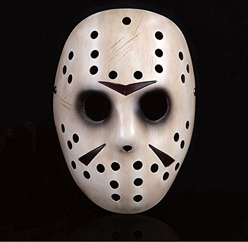 [Friday the 13th Horror Jason Hockey Mask Voorhees Halloween Party Costume Props] (Megaman Halloween Costume)