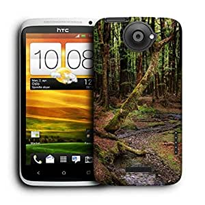 Snoogg Dying Forest Printed Protective Phone Back Case Cover For HTC One X