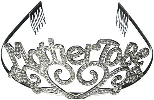 Metal Mother To Be Tiara Baby Shower Mom Gift Crown - 1
