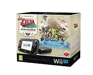 Console Nintendo Wii U 32 Go noire - 'The Legend of Zelda : Wind Waker HD' - édition limitée premium pack