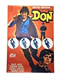 Prop It Up Vintage Bollywood Original Reprinted Don Poster (75cmX50cm)