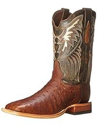 Tony Lama Men's 6077-FQ Ostrich Western Boot
