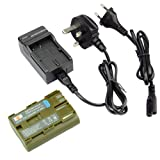 DSTE® Replacement Battery + Charger DC19U for Canon BP-511, BP-511A