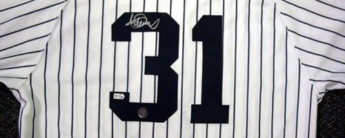 イチロー直筆サイン入り ヤンキース公式ホームジャージー 背番号31  Mill Creek社