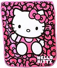 Hello Kitty Royal Plush Raschel Throw - Blanket