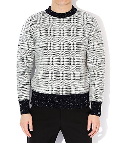 thom-browne-mens-wool-knit-glen-check-sweater-1-black-and-white