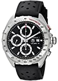 TAG Heuer Men's CAZ2010.FT8024 Analog Display Automatic Self Wind Black Watch