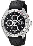 Tag Heuer Men's  'Formula 1' Black Dial Black Rubber Strap Chronograph Swiss Automatic Watch CAZ2010.FT8024