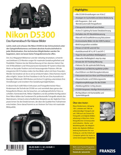 Kamerabuch Nikon D5300...