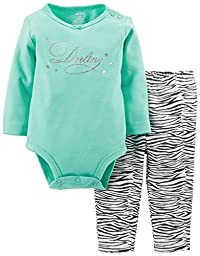 Carter\'s 2 Piece Cute & Comfy Set (Baby) - Darling-6 Months