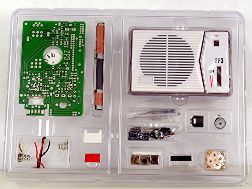 Tecsun 2P3 AM Radio Receiver Kit - DIY for Enthusiasts, Built it into a radio case ! (Crystal Radio Kit compare prices)