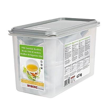 Wiberg Vital-Gemüse Bouillon Pflanzlich 7900 ml, 1er Pack (1 x 7.9 L) von Wiberg auf Gewürze Shop