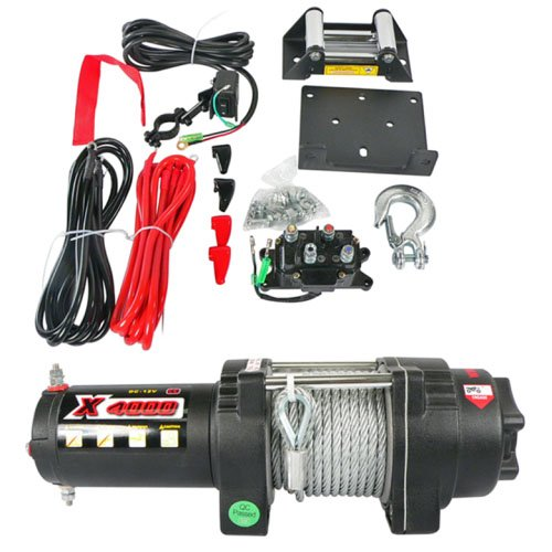 NEW-COMPLETE-ATV-UTV-WINCH-MOTORO-ASSEMBLY-KIT-4000LB-RATINGS