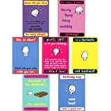 Greeting Cards collection. Smile 2 - 7 Vimrod humour cards.by Paperlink