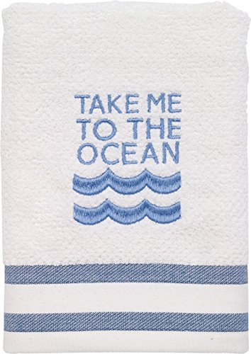 Avanti-Linens-036762WNY-Beach-Words-Hand-Towel-Medium-White