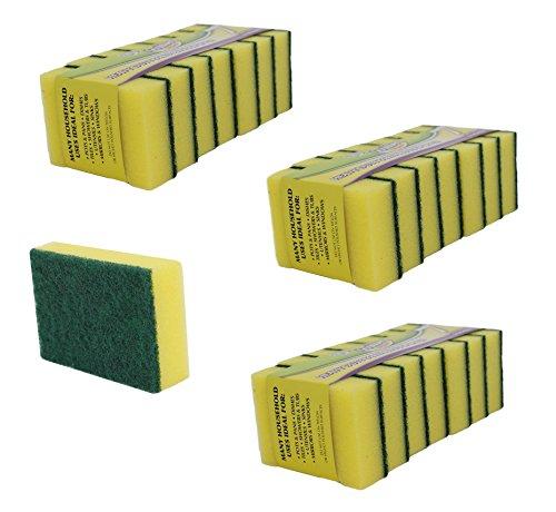pack-of-21-scrubbing-sponges-one-side-sponge-one-side-scrubbing-pad