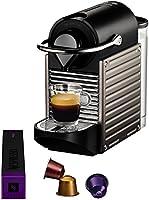 Krups YY1201FD Nespresso Pixie Machine à Espresso Titane